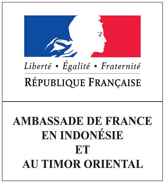 Logo de l'ambassade de France en Indonésie et au Timor Oriental