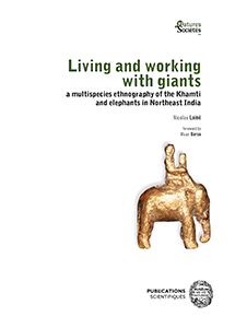 Couverture de Living and working with giants